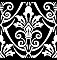 seamless vintage pattern seamless border in vector image vector image