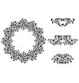 Victorian Decorative Element vector image vector image