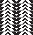 Black and white alternating thick chevron with vector image