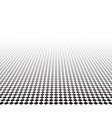 Perspective checkered surface vector image vector image