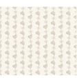 Retro seamless pattern Beige background vector image vector image