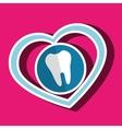 symbol medicine odontology icon vector image vector image