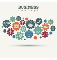 business engine vector image