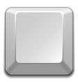 blank white key vector image vector image