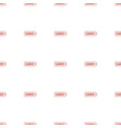 cargo tag icon pattern seamless white background vector image vector image