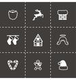 Cristmas icon set vector image