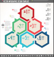 infographic design template colorful design 5 vector image