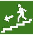 man ladder icon vector image