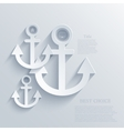 modern anchor background Eps 10 vector image vector image