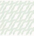 pastel leaves intertwined seamless pattern hand vector image vector image