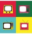 Pop art communication icons design vector image