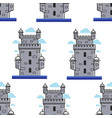 portugal brick tower architecture and landmark vector image vector image