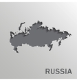 Russia map vector image vector image
