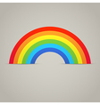 Trendy Rainbow Creative Icon Design vector image