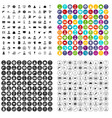 100 job offer icons set variant vector image vector image