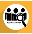 businessman design vector image vector image