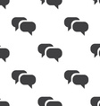 Conversation seamless pattern vector image