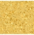 Gold mosaic background vector image vector image