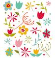 Happy Spring card vector image vector image