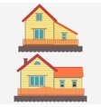 House facade vector image