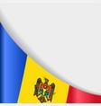 moldovan flag background vector image vector image