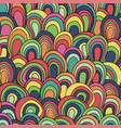 Psychedelic waves seamless pattern