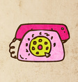 Telephone Cartoon vector image vector image