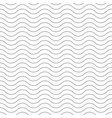 wave background seamless pattern gray vector image