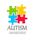 world autism awareness day vector image