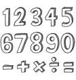 11854 white vector image