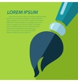 brush icon Eps10 vector image vector image