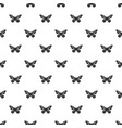 butterfly with stripes on wings icon simple style vector image vector image