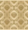 damask vintage seamless background pattern vector image