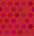 seamless pattern with colorful stars vector image vector image
