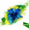 abstraction from a mixture of colors vector image
