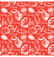Beauty seamless pattern Cosmetic accessories vector image vector image