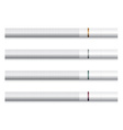 cigarettes - white filter vector image vector image