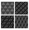 gray geometric seamless background compilation vector image