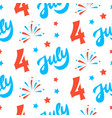 independence day of america festive background vector image vector image