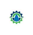 oil logo vector image
