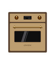 oven isolated on white background vector image
