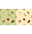 seamless insects pattern