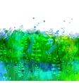 Watercolor floral texture vector image vector image