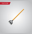 isolated hoe flat icon tool element can be vector image