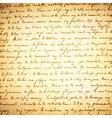 Old Letter 18 Century vector image