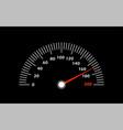 a speedometer racing speed vector image