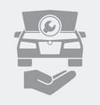 automotive assistance services icon vector image