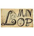 curly playful alphabet - hand drawn - part l-p