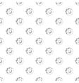 Gear pattern cartoon style vector image