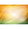 green and orange background vector image vector image